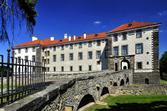 Manor house Nelahozeves. Czech Republic Stock Images