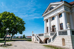 Manor House, Pakruojis, Lithuania Stock Photo