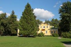 Manor house. Reserve Museum Pushkin Boldino. Russia Royalty Free Stock Photo