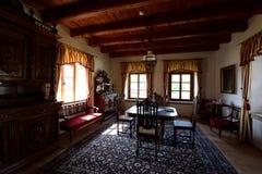 Manor House Room, Pribylina, Slovakia royalty free stock images