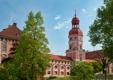 Manor house Roudnice nad Labem. In the Czech Republic Royalty Free Stock Image