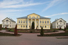 Manor House in Russian Style Stock Photos