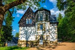Manor house in Saxony Germany Royalty Free Stock Photo