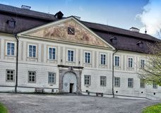 Manor-house in Svaty Anton Royalty Free Stock Images