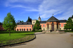 Manor house Sychrov Royalty Free Stock Photography