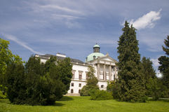 The manor house of Topolcianky Royalty Free Stock Images