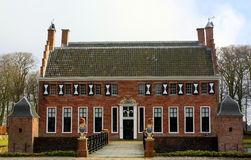 The Manor house in Uithuizen Stock Photos