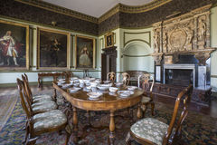Manor House - Yorkshire - England. Interior of a large country manor house or stately home - Yorkshire in north east England Stock Photography