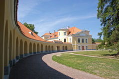 Manor of  Krusenstern Stock Photo