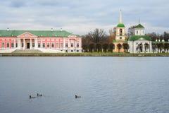 The Manor of Kuskovo Royalty Free Stock Image
