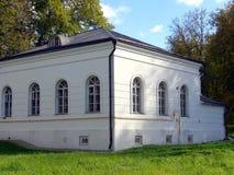 Manor Kuzminki, outbuilding. Manor Kuzminki of Golitsyn princes, outbuilding Stock Image