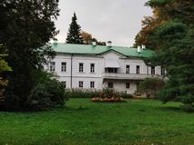 Manor L.N. Tolstoy stock image