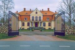 Manor at Latvia. Stock Photos