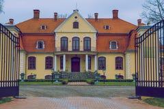 Manor at Latvia. Royalty Free Stock Photography