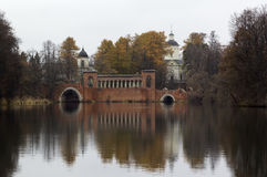 Manor Marfino in Moscow region, Russia Stock Photo