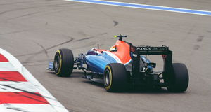 Manor Mercedes MRT05  Grand Prix F1 2016 Royalty Free Stock Photography