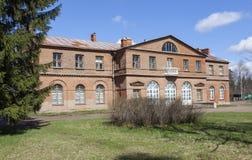 Manor Olenins Priyutino. The manor house. Vsevolozhsk. Leningrad region. Stock Images