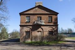 Manor Olenins Priyutino. The manor house. Vsevolozhsk. Leningrad region. Royalty Free Stock Photos