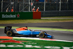 Manor Racing Formula 1 at Monza driven by Pascal Wehrlein Royalty Free Stock Photo