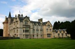 Manor in Schotland Stock Afbeeldingen