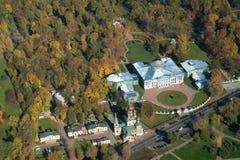 Manor Sheremetyeva van een hoogte 348 meters Stock Foto's
