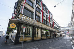 Manor Shopping center in Basel, Switzerland. Stock Images