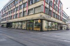 Manor Shopping center in Basel, Switzerland. Stock Photos