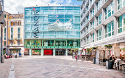 Manor Shopping center in Lugano Stock Images