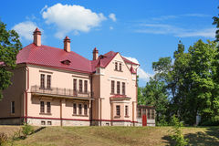 The  manor of Sophie Kovalevskaya parents Royalty Free Stock Photo