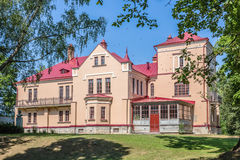 The  manor of Sophie Kovalevskaya parents Stock Photography