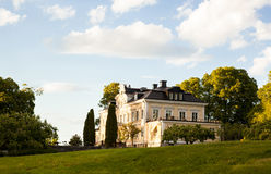 Manor in Sweden. Stock Photography