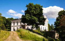 Manor in Sweden. Stock Photos