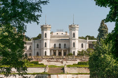Manor in Ukraine. Old Manor in Ukraine near kharkiv, was a sanatorium Stock Image