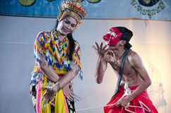 Manora dance is a traditional dance performance art of the South Stock Photography