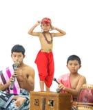 Manora ein Volkstanz von Thailand Stockbild