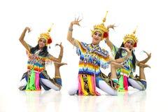 Manora en folkdans av Thailand Arkivfoto