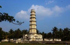 Manora-Fortturm mit Zinne und Fenstern Stockfotografie