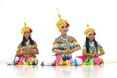 Manora une danse folklorique de la Thaïlande Photos stock