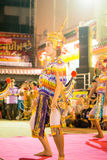 Manorah. A form of folk-dance in the south of Thailand called Manorah on February 12, 2014 in Yala, Thailand Royalty Free Stock Image