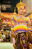 Manorah. A form of folk-dance in the south of Thailand called Manorah on February 12, 2014 in Yala, Thailand Royalty Free Stock Photo