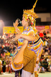 Manorah. A form of folk-dance in the south of Thailand called Manorah on February 12, 2014 in Yala, Thailand Stock Photo