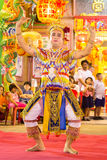 Manorah. A form of folk-dance in the south of Thailand called Manorah on February 12, 2014 in Yala, Thailand Stock Photography