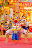 Manorah. A form of folk-dance in the south of Thailand called Manorah on February 12, 2014 in Yala, Thailand Stock Images