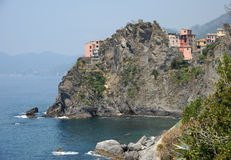 Italy. Manorola Cinque Terre Stock Photography