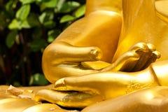 Manos budistas de la estatua Imagenes de archivo