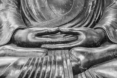 Manos de Buda Imagen de archivo libre de regalías