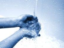 Manos de la limpieza Imagen de archivo libre de regalías