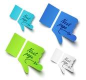 Manos de papel Imagen de archivo libre de regalías