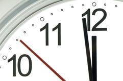 Manos de reloj Fotos de archivo libres de regalías