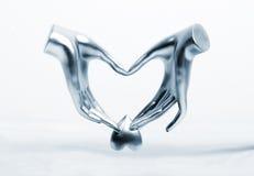 Manos del amor Foto de archivo libre de regalías